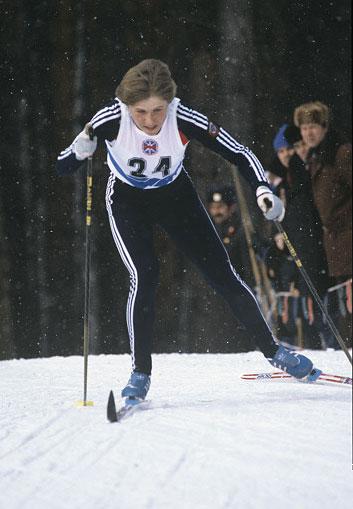 Анфиса Резцова на VI зимней Спартакиаде народов СССР. 1986 год