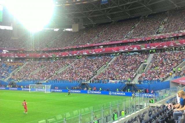 Россия победила Новую Зеландию 2-0.