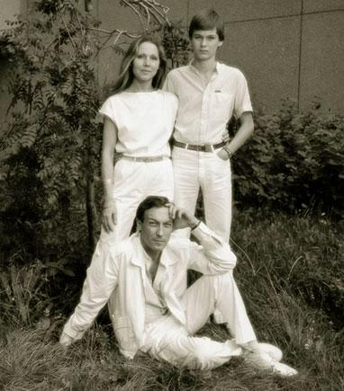 Олег Янковский с семьей. 1983 год