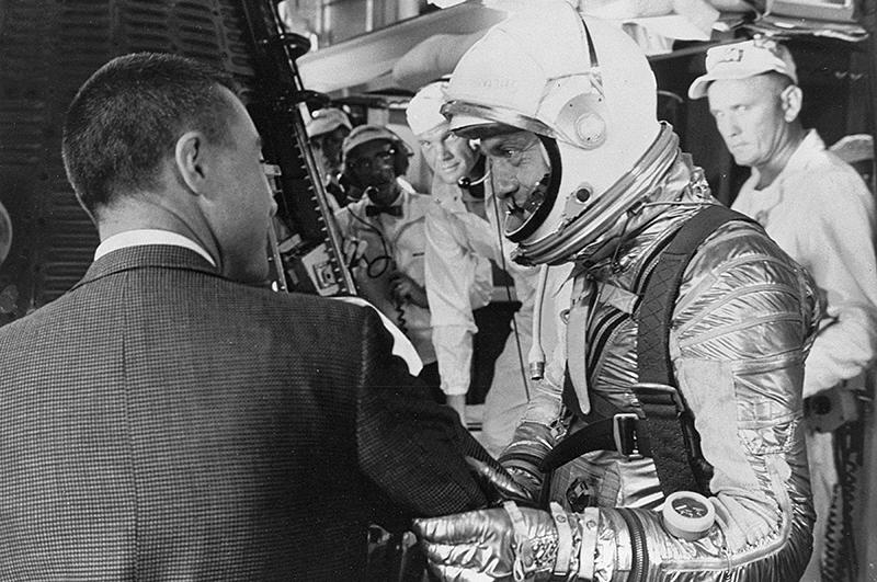 Американский Гагарин совершил свой первый полет 5 мая 1961 года на корабле Меркурий -3