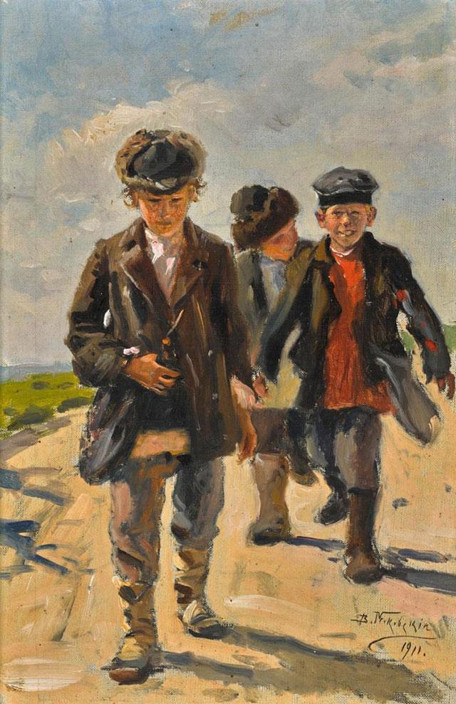Владимир Маковский, «Три мальчика».