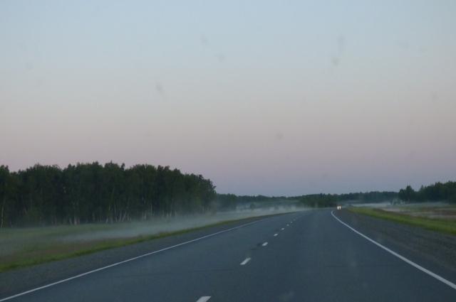 Утренний туман.