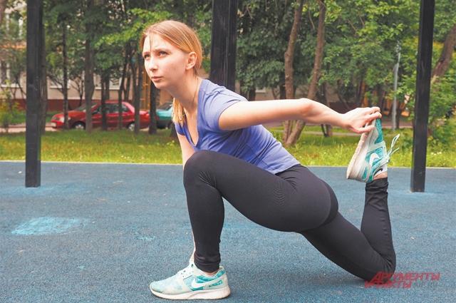 Растяжка нужна, чтобы избежать роста мышц.