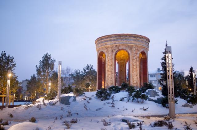 Парк Ангелов в Кемерове.