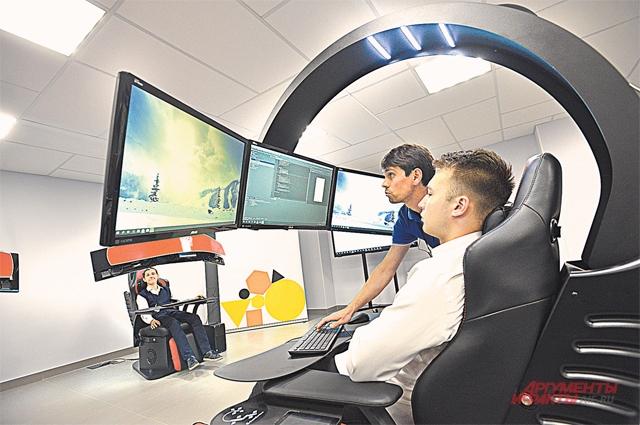 Сначала школьники пользуются компьютерными технологиями, а в старших классах уже сами участвуют в их разработке.