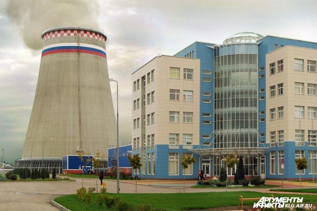 Калининградская ТЭЦ.