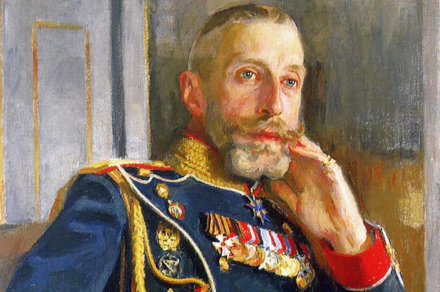 Константин Романов на портрете Осипа Браза. 1912 год