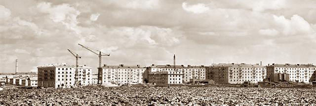 Панорама строительства района Новые Черемушки
