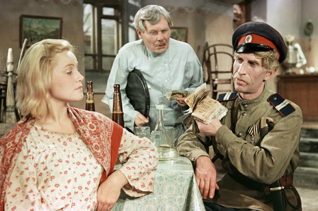 Сергей Филиппов в роли казака в фильме «Олеко Дундич», 1958 год
