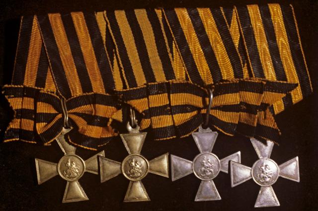 Знак Отличия Военного ордена Святого Георгия наградной знак к ордену Святого Георгия для солдат и унтер-офицеров (1807 1917 годы) за выдающуюся храбрость, проявленную в бою