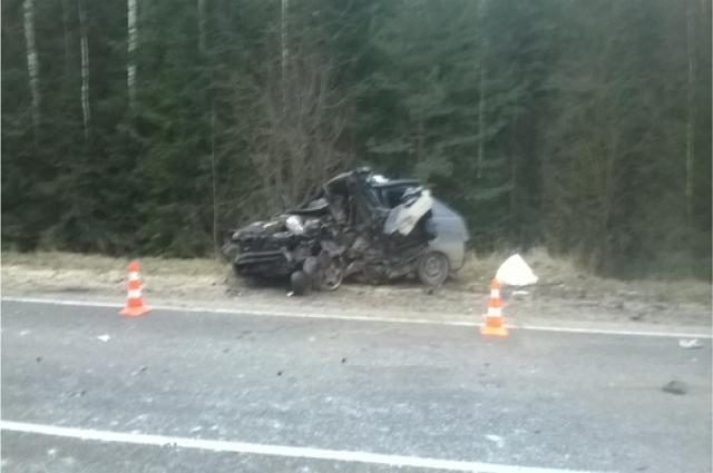 Виновник аварии получил незначительные травмы.