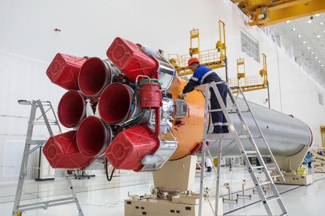 На 26 марта запланирован «сухой» - без заправки топливом - выкат ракеты на стол.