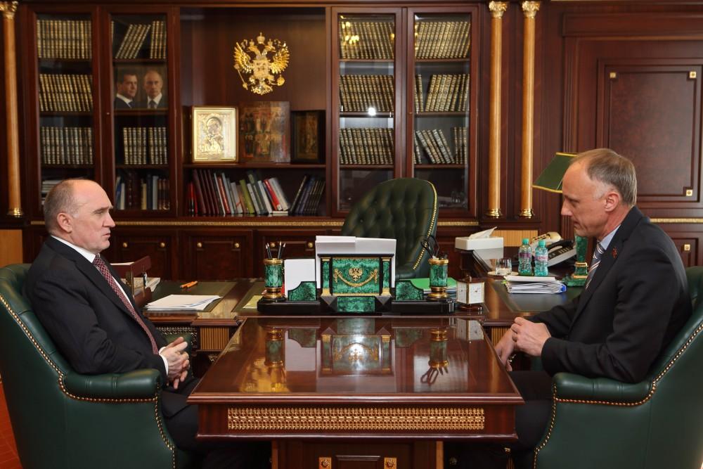 Олег Голиков и Борис Дубровский