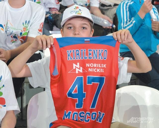 В «Динамо» съехались настоящие поклонники спорта и российских чемпионов, которые уже вписали своё имя в историю баскетбола.