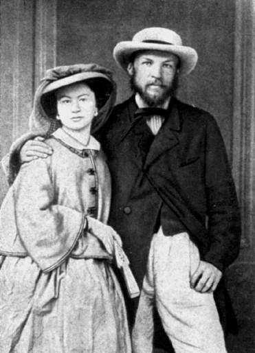 Первый брак Менделеева продлился 19 лет.