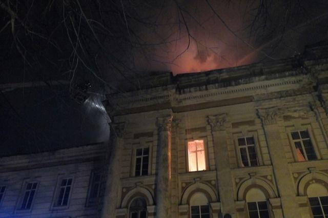 пожар в Детской областной клинической больнице Твери
