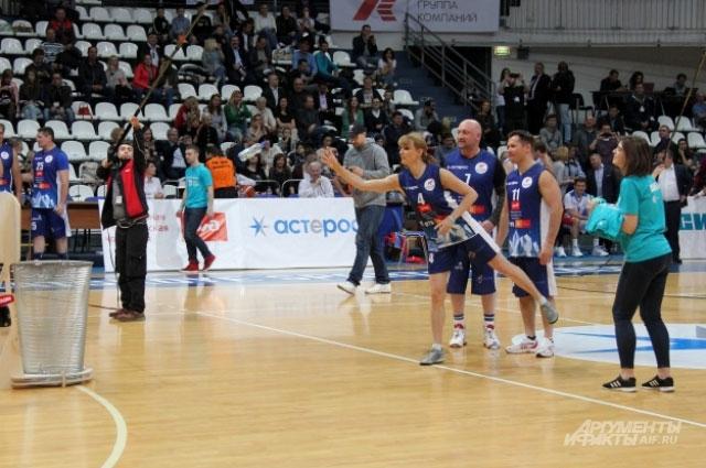 Эко-баскетбол.