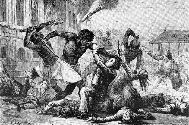 Резня на Гаити 1804 года.