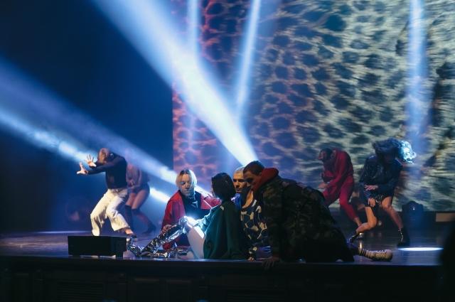 В концерте приняли участие участники 4 сезона шоу.