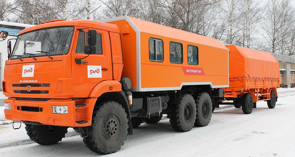 Фургоны КАФ.