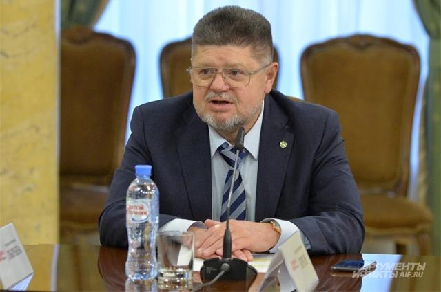 Главный внештатный специалист-нарколог Департамента здравоохранения города Москвы, главный внештатный специалист-нарколог Минздрава РФ Евгений Брюн.