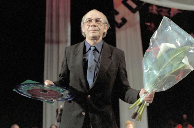 Лев Борисов на II Всесоюзном фестивале актеров советского кино «Созвездие-90».