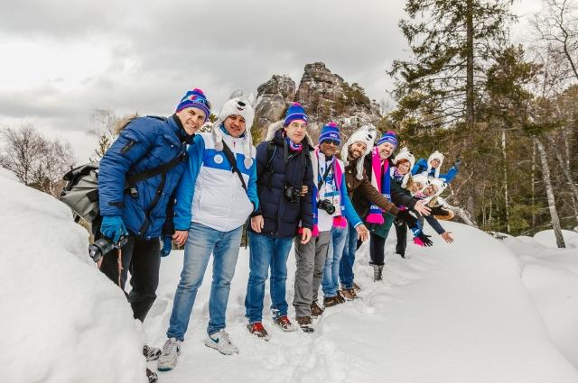 Иностранцы смогли оценить красоты Сибири.