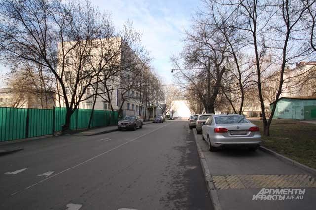 Палочный переулок сегодня