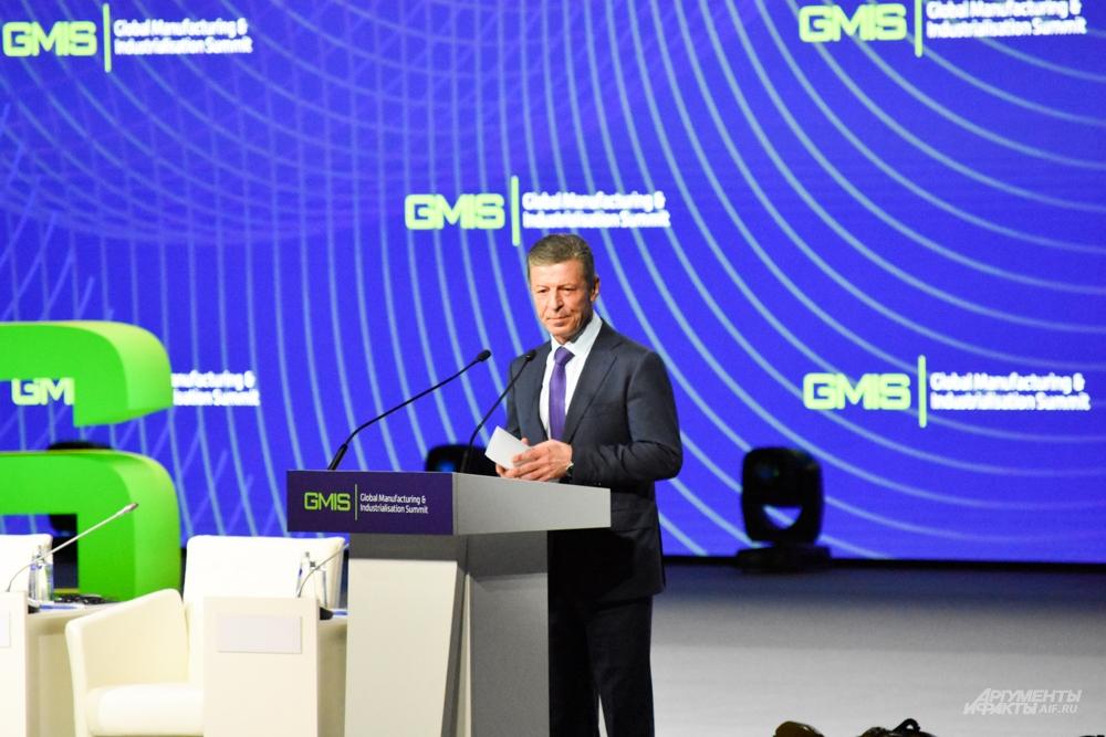 Вице-премьер России Дмитрий Козак.