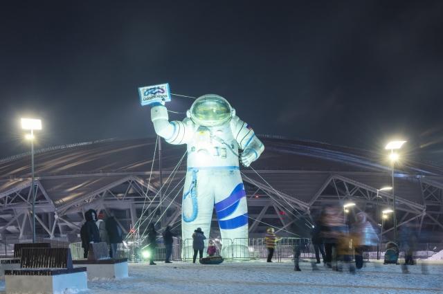 Теме освоения космоса в Самаре посвящен целый ряд площадок.