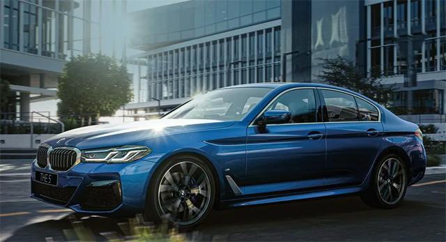 BMW 5-й серии.
