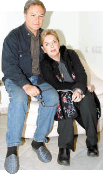 Родион Нахапетов с женой