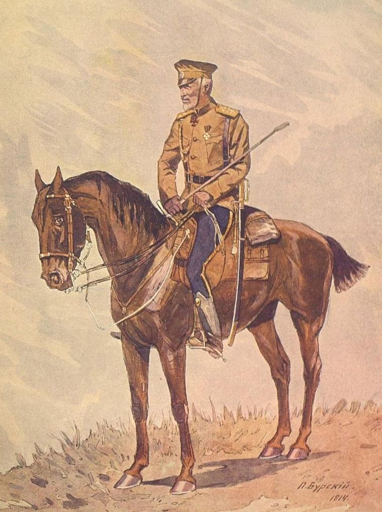 Николай Николаевич Романов (младший). Конный портрет, 1914 год