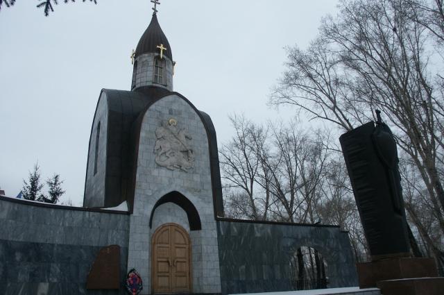 Часовня Св. Георгия-Победоносца на ул. Н. Островского