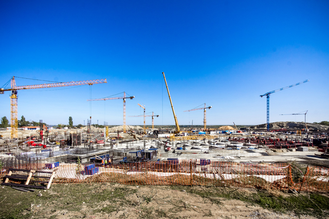 Строительство в Волгограде стадиона к ЧМ-2018