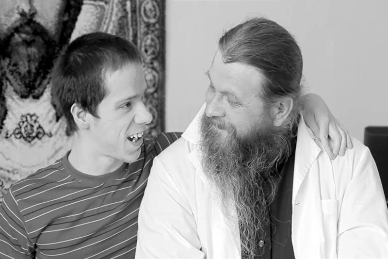 Кадр из фильма «Литургия» протоиерея Сергия Баранова.