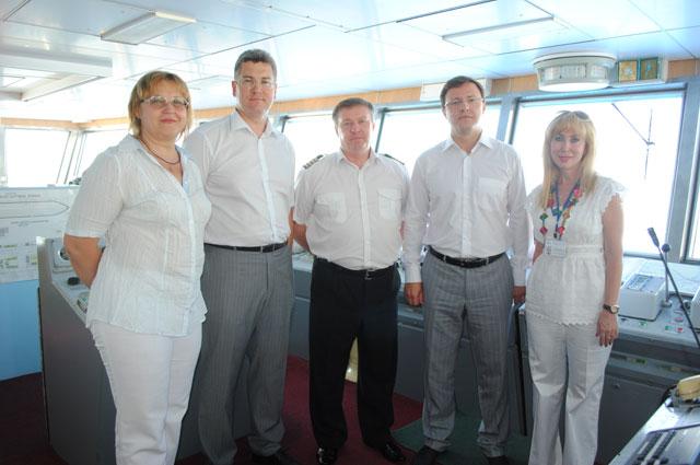 Команда компании «Волга-Флот-тур»