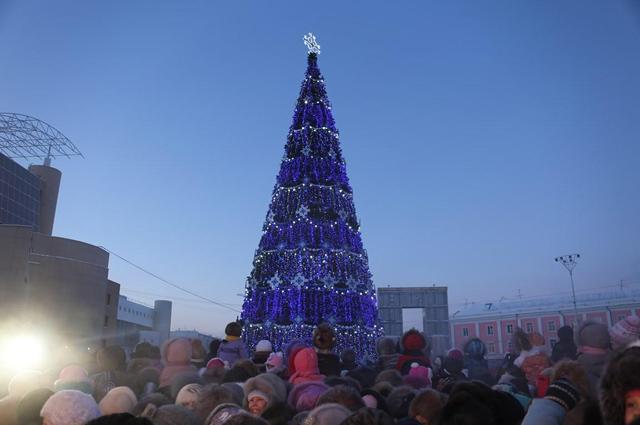 Новый год в Якутске