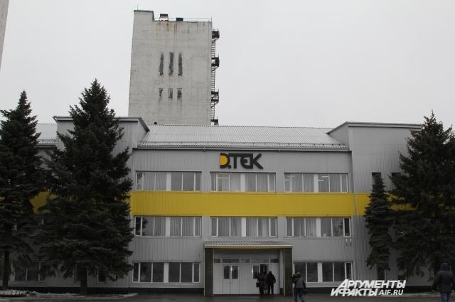 Шахта «Обуховская» в Ростовской области.