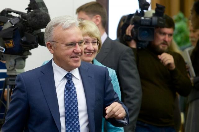 Александра Усса на пост председателя выбрали единогласно.