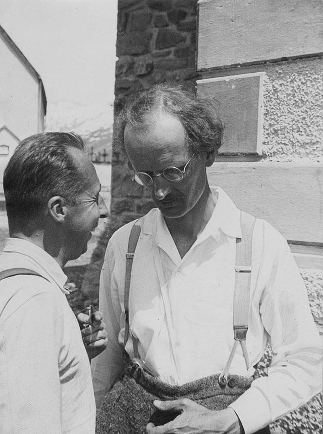 Швейцарский ученый, физик и изобретатель Огюст Пикар, 1931 год