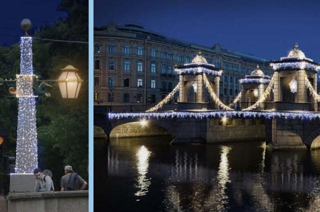 Петербург превратится в новогоднюю сказку.