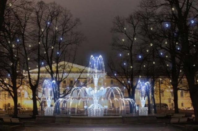 Сады и скверы украсят сияющими фонтанами.