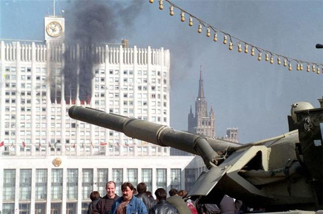 Расстрел Белого дома в 1993 году фото 5