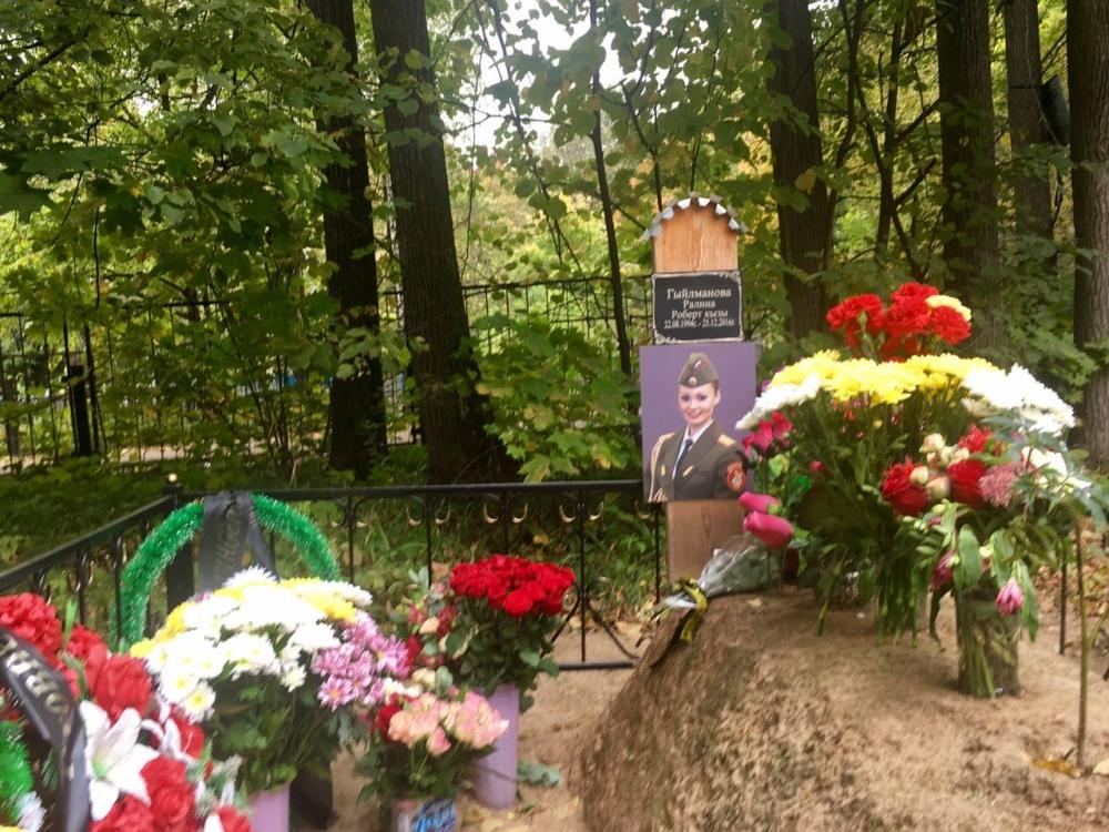 Ралина похоронена на Юдинском кладбище в Казани.
