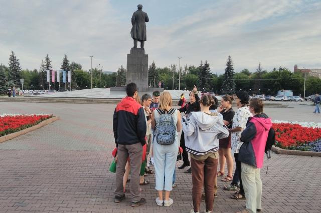 Красноярцы интересуются историей своего города.