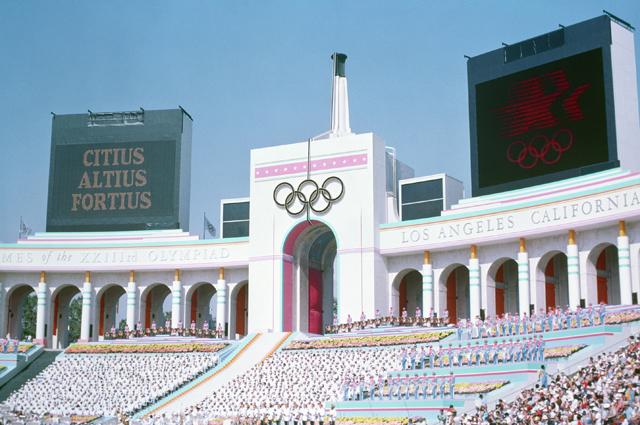 Олимпиада в Лос-Анджелесе