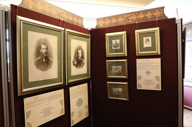 Литографии, представленные на выставке.