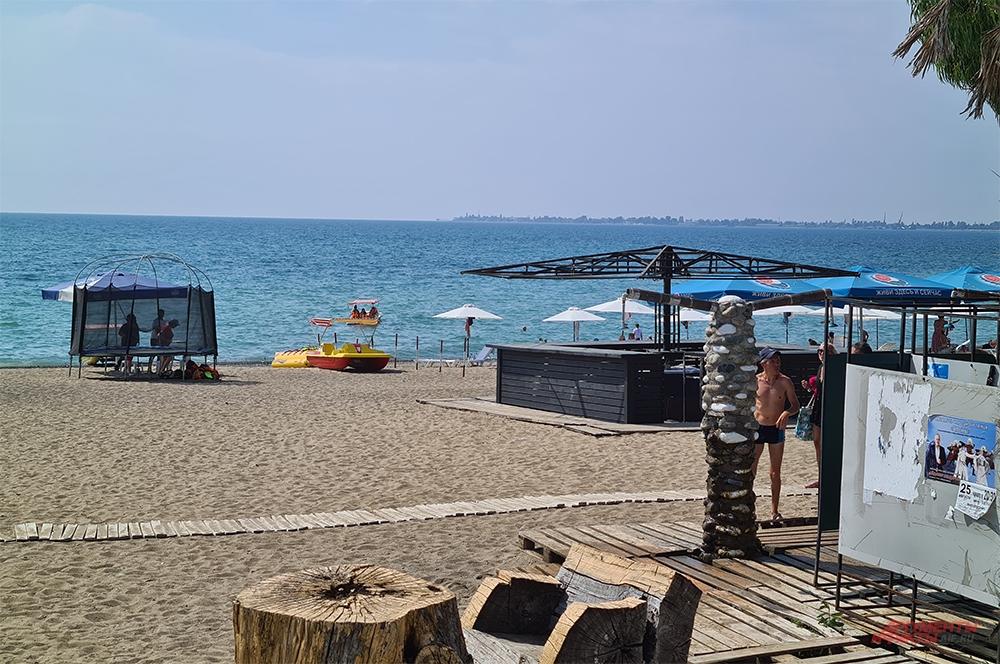 Пляж Мокко.