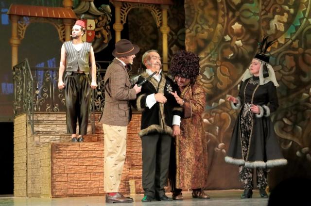Юбилейный 85-й театральный сезон оренбургская музкомедия открывает яркой премьерой – мюзиклом «Однажды в Тифлисе, или Проделки Ханумы».
